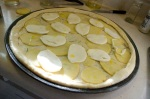 Yugon Gold Potato White Pizza